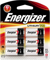 Energizer Photo Battery 123 - K123 , 6-Count