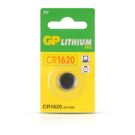 GP CR1620 Lithium Cell Battery 3V (Pack of 1)