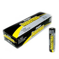 Energizer Industrial Alkaline Batteries, AA, 24 Batteries/Box (EN91)