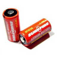 New Hot High Power 2PCS Surefire SF123A 3 Volt Lithium Batteries