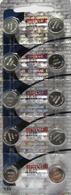 10 LR44 A76 L1154 AG13 357 303 Battery Maxell Hologram