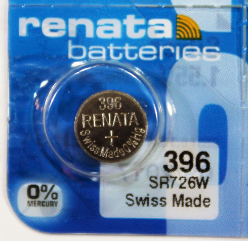 Renata 396 Button Cell Watch Battery