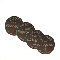 Wholesale pack of 500 Energizer 2032 Button Cells, CR2032
