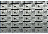 20 PCS ENERGIZER 377 376 WATCH BATTERIES SR626SW SR626W