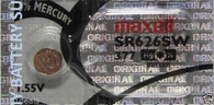 1 Pc Maxell 377 AG4 SR626SW LR626 Silver Oxide Watch Battery Made In Japan