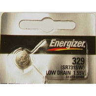 1 Energizer 329, SR731SW, V329, D329, S42, 24, 363, E329, GP329 Battery