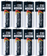 Energizer E90 LR1 N Size, 1.5 Volt Alkaline Batteries [8 pcs]