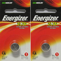 2 Energizer 2L76 Lithium Camera Batteries - 2L76BP