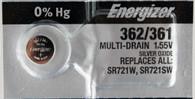 1 Energizer 362 361 SR721SW AG11 LR721 V362 V361 D362 D361 SP361 SP362 Battery