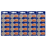 25 pcs. Sony CR2032 Lithium 3-Volt Battery *Replaced By Murata