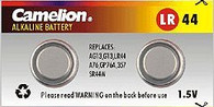 LR44/AG13 Alkaline Button Battery Great for Red Dot Sights and Lasers. 2 Pack.