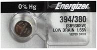 1 Energizer 394 380 SR936SW LR936 AG9 LR45 SR45 Silver Oxide Battery