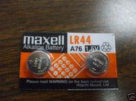 LR44 AG13 A76 L1154 AG13 357 battery x 2 maxell