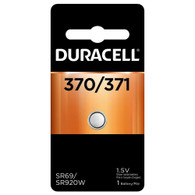 Duracell 370/371 Button Cell Silver Oxide SR920W Watch Battery