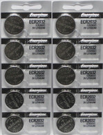 10 x NEW energizer CR2032 Lithium Battery 3V