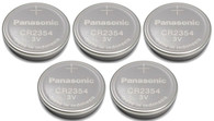 5 New Panasonic CR2354 2354 CR 2354 3V lithium BATTERIES