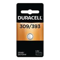 1 Duracell 393 309 SR754 LR754 SR48 LR48 AG5 193 V393 D393 RW28 S15 Battery