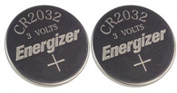 Watch/Electronic Batteries, Energizer, 3 Volts, 2032, 2 batteries (Lithium Button Cell)
