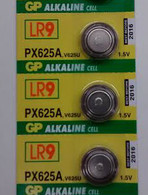 1.5v 625A Alkaline Battery - 3 Pack