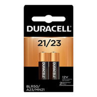 Duracell A23 12V Alkaline Battery for Keyless Entries and Electronics, 2 Pack Blister Card 21/23 MN21