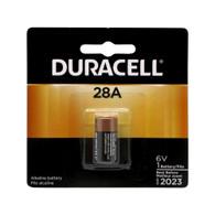 DURACELL PX28ABPK , 28A, Alkaline, 6V  Battery