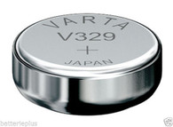 Varta Button Cell Type 329 1.55V Watch/Electronic Battery