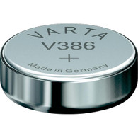 Varta Button Cell Type 386 1.55V Watch/Electronic Battery