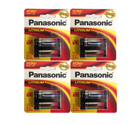 2CR5 Panasonic Ultra Lithium 6V Battery Minolta 3000i Film Camera 4 pk.