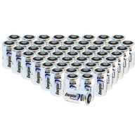 Energizer Lithium CR123A 3V Battery Replaces DL-123 EL123 VL123A - 50 pk. - Wholesale
