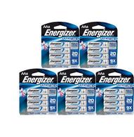 Energizer Ultimate L91BP4 Lithium AA Battery - 20 Batteries IN ORIGINAL RETAIL PACKS NOT BULK