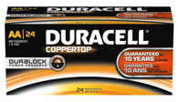 48 Pack Duracell AA CopperTop Alkaline MN1500 Batteries