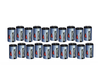 (20) 3.6 Volt 1/2 Aa Tekcell Lithium Wireless Adt Alarm Batteries