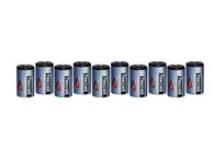 (10) 3.6V ADT Tekcell SB-AA02 14250 1/2AA LITHIUM BATTERIES