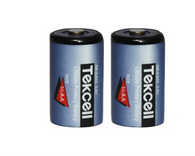 (2) Tekcell SB-AA02 14250 1/2AA Lithium Batteries For Tekcell SB-AA02SB-AA02P