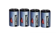 Tekcell (4) Tekcell SB-AA02 14250 1/2AA Lithium Batteries For Tekcell SB-AA02SB-AA02P