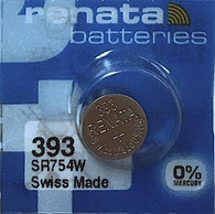 20 Renata 393 Button Cell watch batteries