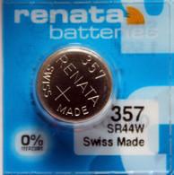 25 Renata 357 303 SR44SW A76 Silver Oxide Batteries