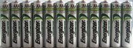 Energizer AAA Rechargeable NiMH Battery 700 mAh 1.2V 12 Pc
