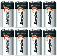 Energizer E522 Max 9V Alkaline battery Exp. 12/20 or later Made in USA - 8 Count