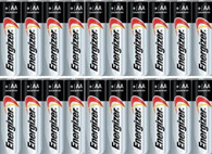 Energizer AA Max Alkaline E91 Batteries Made in USA - Expiration 12/2024 or later - 20 count