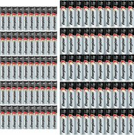 Energizer Max 50 AA & 50 AAA Pack Long Lasting Alkaline Batteries