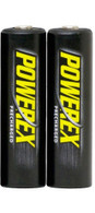 2 PowerEx  AA 2600mAh Rechargeable Batteries
