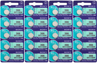 366 Sony SR1116SW Silver Oxide Watch / Electronic Battery 20 Pcs