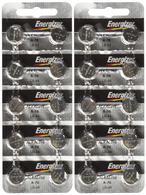 "Energizer LR44 1.5V Button Cell Battery 20 pack (Replaces: LR44, CR44, SR44, 357, SR44W, AG13, G13, A76, A-76, PX76, 675, 1166a, LR44H, V13GA, GP76A, L1154, RW82B, EPX76, SR44SW, 303, SR44 S303, S357, SP303, SR44SW) ""Energizer Brand Name Batteries"""