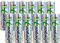Energizer AA Rechargeable batteries NiMH 2300 mAh 1.2V NH15 - 12 Count