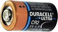 Duracell D4133328187 CR2 3V Ultra Photo Lithium Battery - 500 bulk packed - wholesale