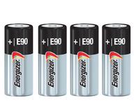 Energizer E90 Alkaline Batteries, 1.5V, LR1 N Size (Pack of 4)