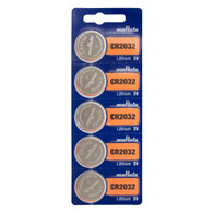 Sony CR2032 3V Lithium 2032 Coin Battery, 5 Pack *Replaced By Murata