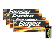 9V Batteries Energizer Industrial EN22  - 48 Pack