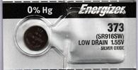 Energizer 373 Silver Oxide watch battery 1 pc. (Each)